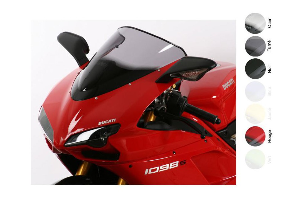 Bulle Moto MRA Type Racing +80mm pour Ducati 1098 S et R