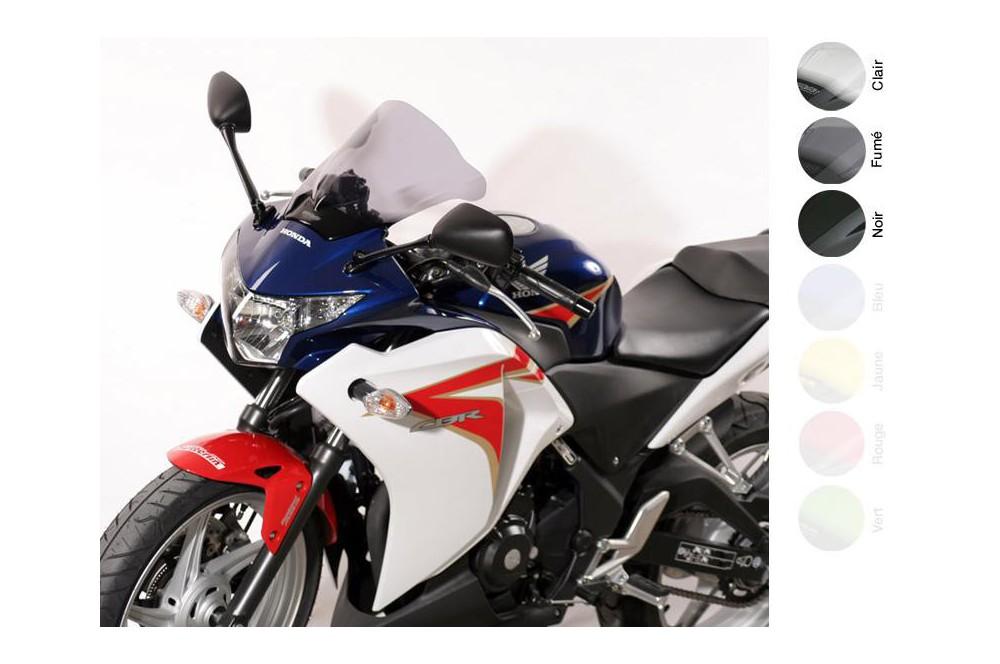 Bulle Moto MRA Type Racing +45mm pour Honda CBR 250 R