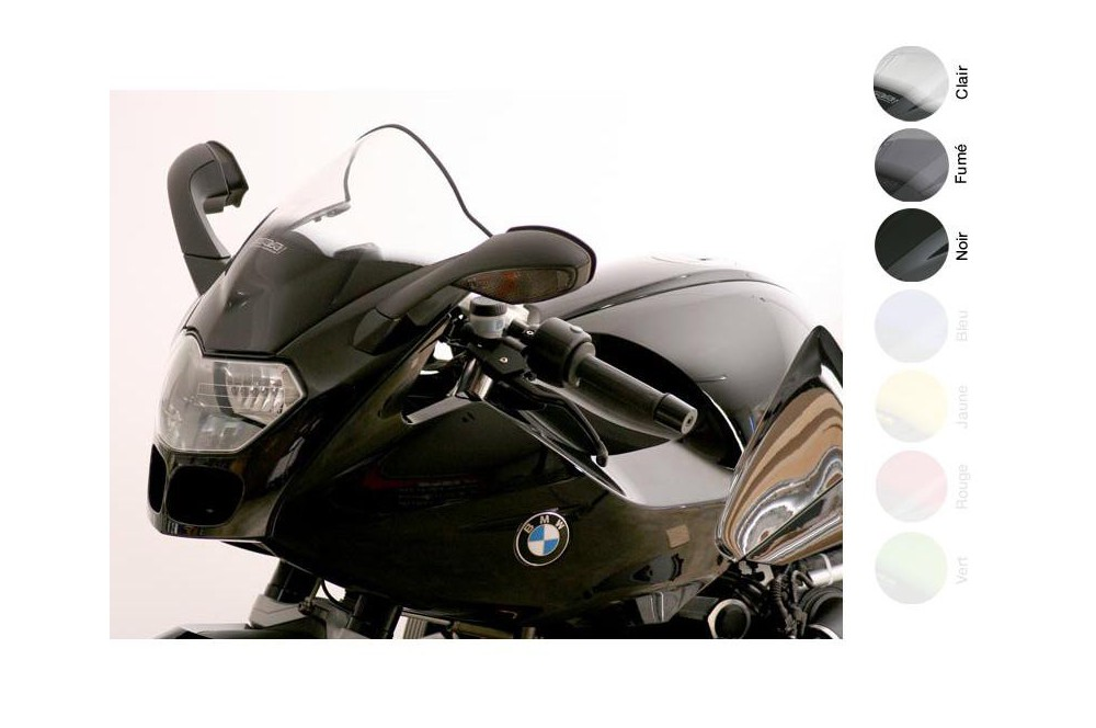Bulle Moto MRA Type Racing +45mm pour Bmw R 1200 S
