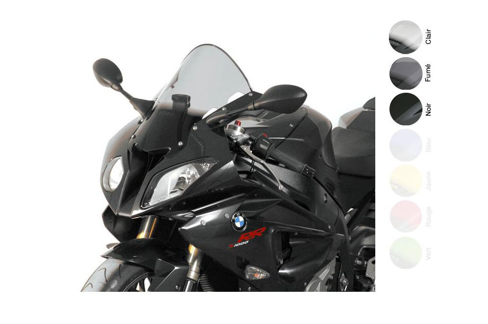 Bulle Moto MRA Type Racing +70mm pour Bmw S 1000 RR - HP4