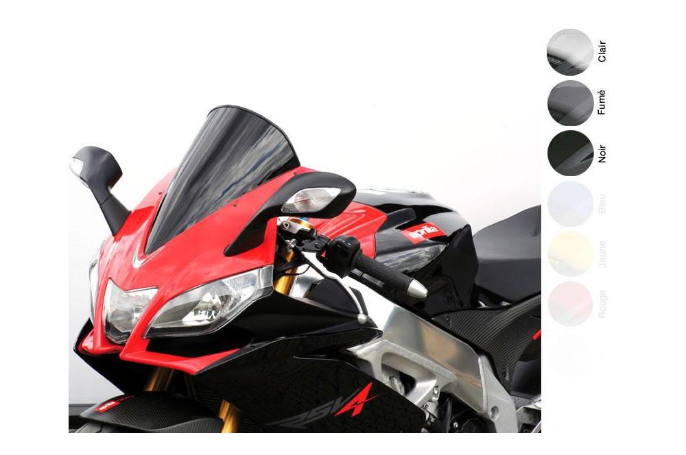 Bulle Moto MRA Type Racing -20mm pour Aprilia RSV4 1000
