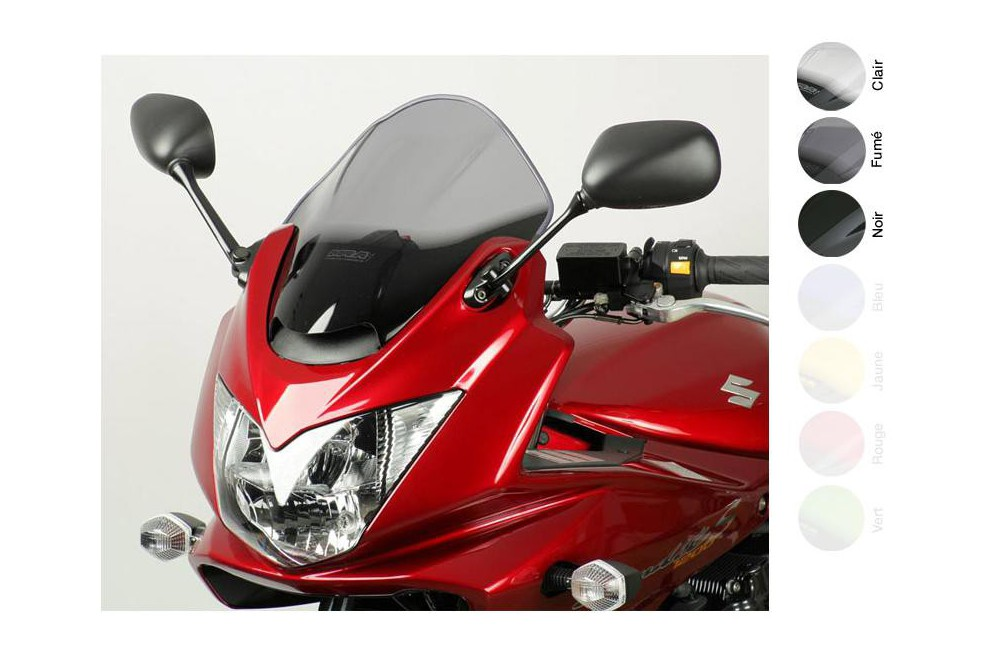 Bulle Moto MRA Type Sport +15mm pour Suzuki GSF -1200 -1250 SA Bandit
