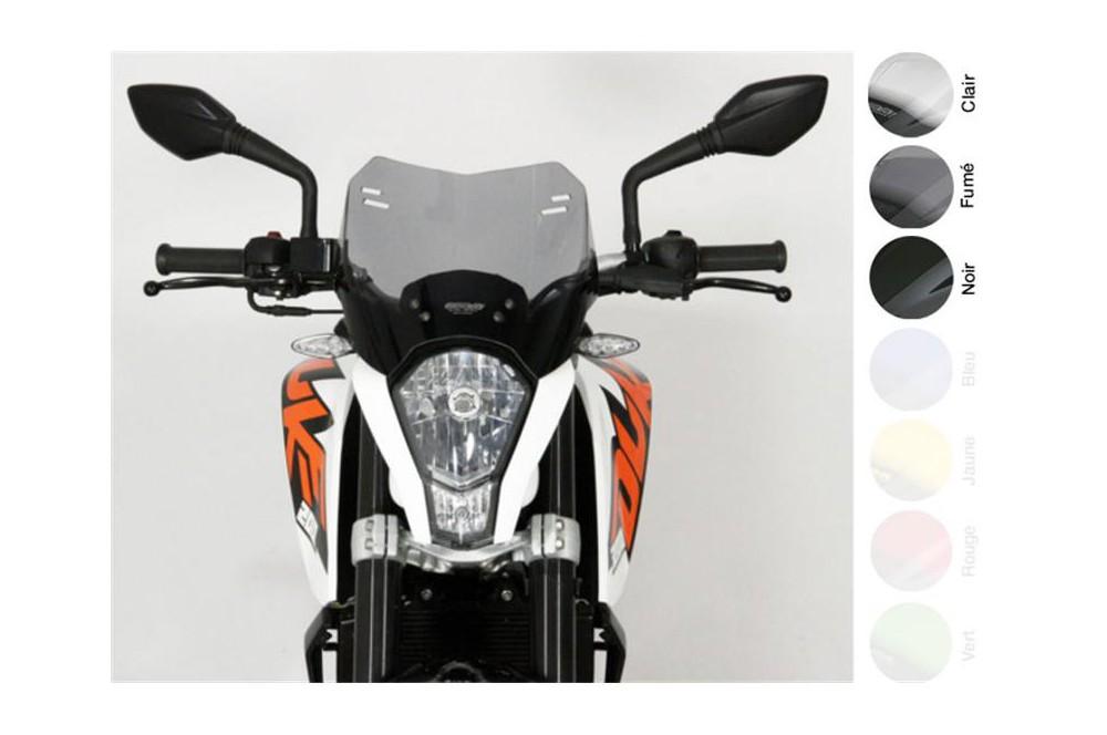 Bulle Moto MRA Type Sport pour KTM Duke 125 - 200 - 390