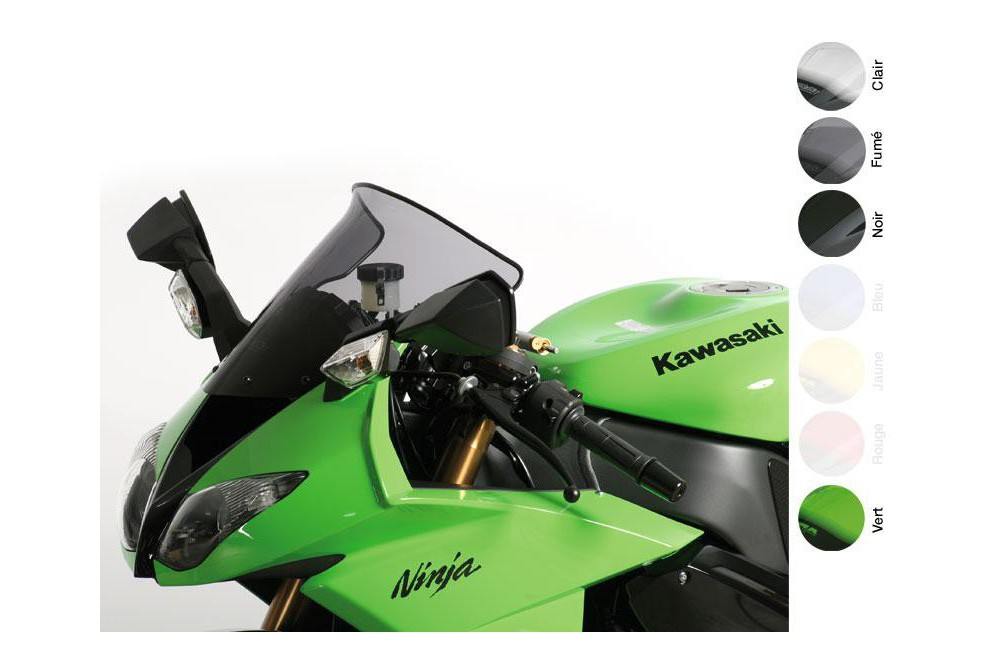 Bulle Moto MRA Type Sport pour Kawasaki ZX6R - ZX636 - ZX6RR