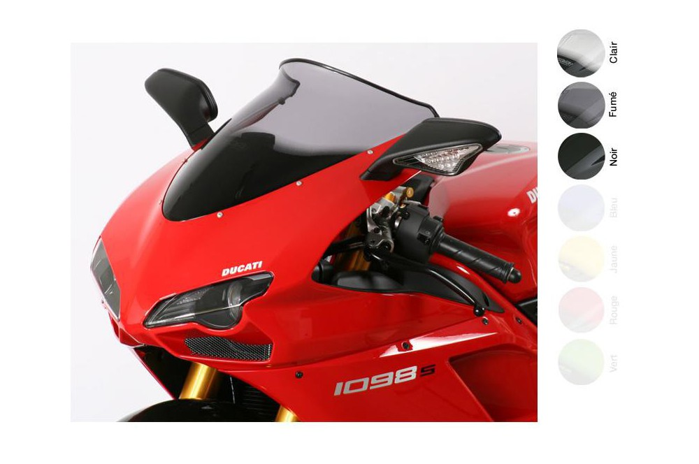 Bulle Moto MRA Type Sport +20mm pour Ducati 1098 - S - R