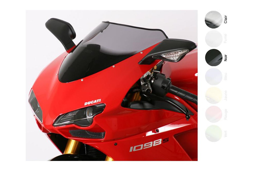 Bulle Moto MRA Type Origine pour Ducati 1098 S - R