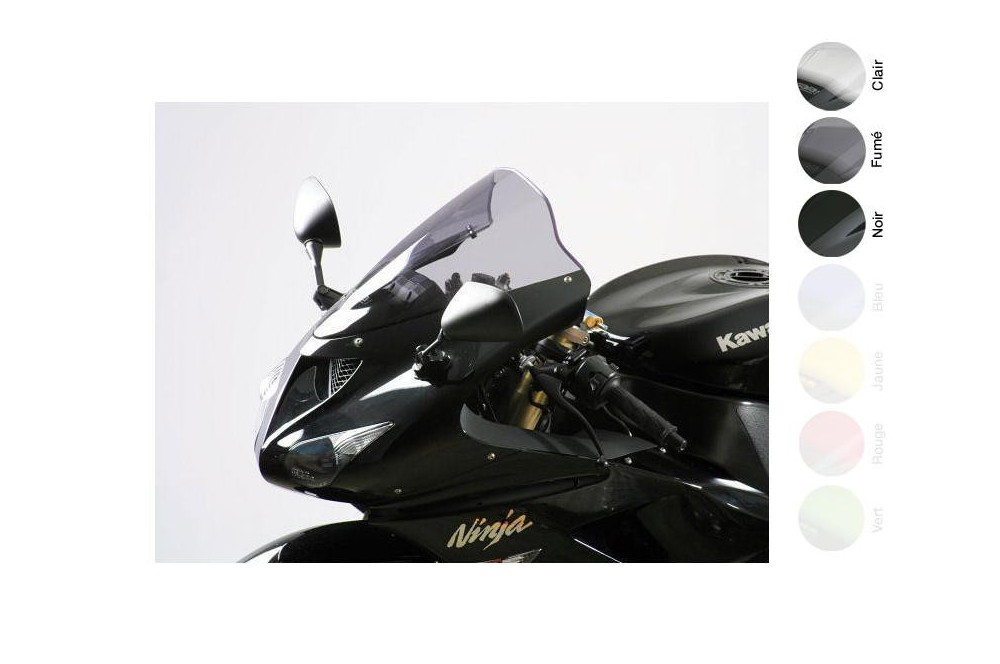 Bulle Moto MRA Type Racing -35mm pour Kawasaki ZX6R - ZX636 - ZX6RR