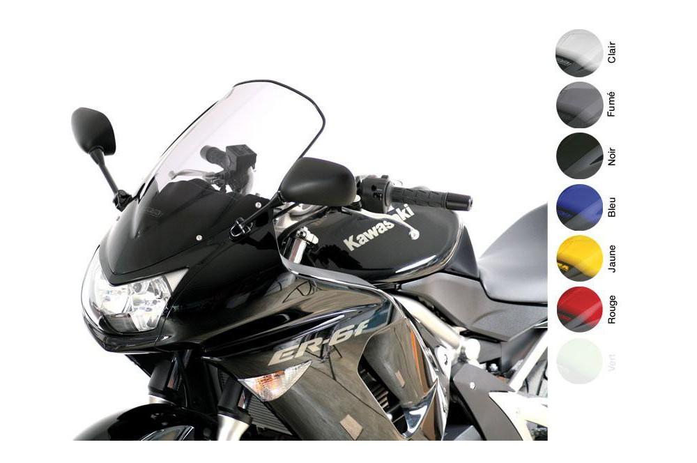 Bulle Moto MRA Type Racing +5mm pour Kawasaki ER6 F