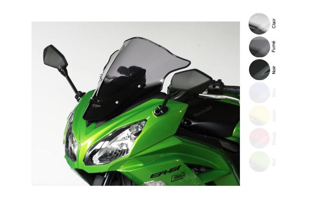 Bulle Moto MRA Type Racing +30mm pour Kawasaki ER6 F