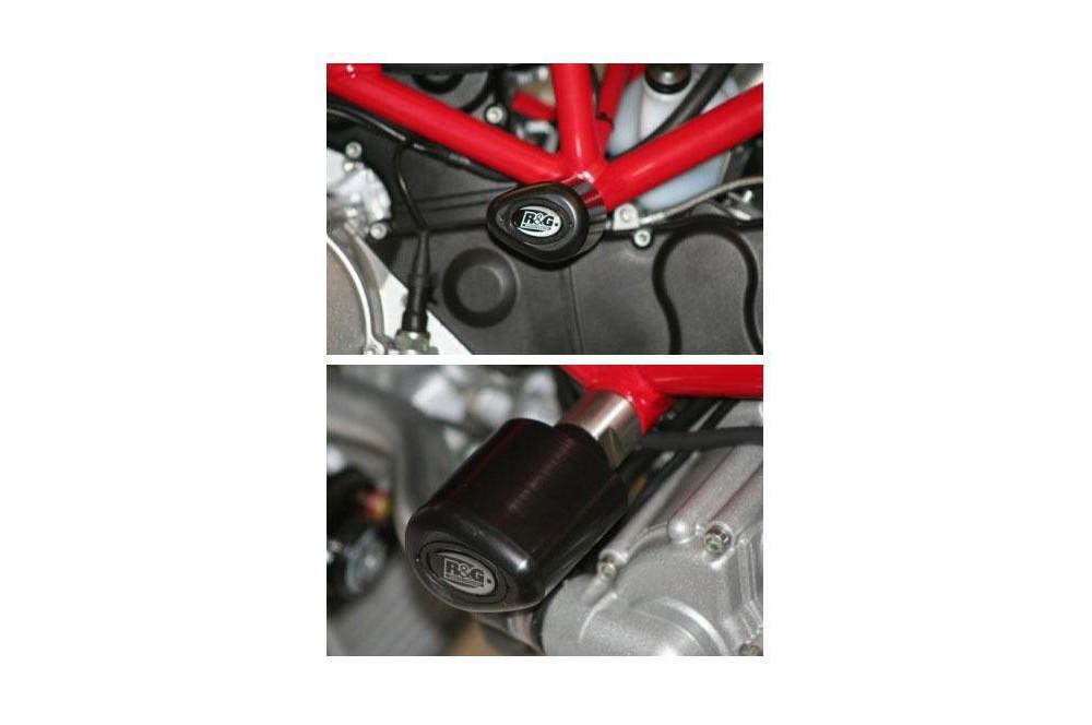 Tampon R&G Aero pour Monster 600, 620, 750, 800, 900, 1000, Multistrada 620, 1000, Sport 1000
