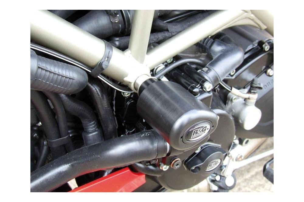 Tampon R&G Aero pour Hypermotard 1100 Evo de 2010 a 2013