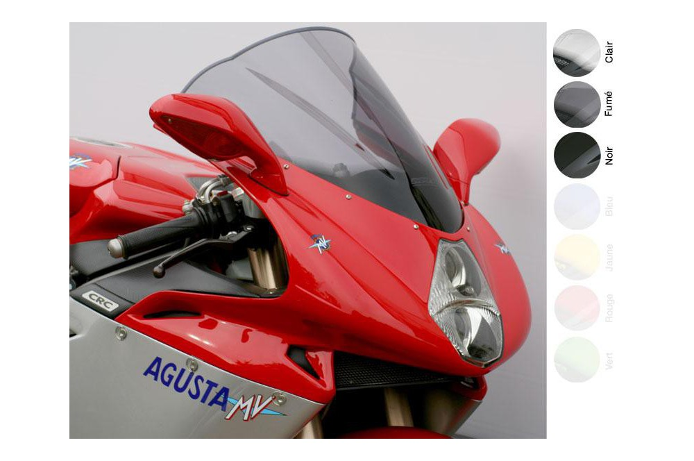Bulle Moto MRA Type Racing +65mm pour MV Agusta F4 750
