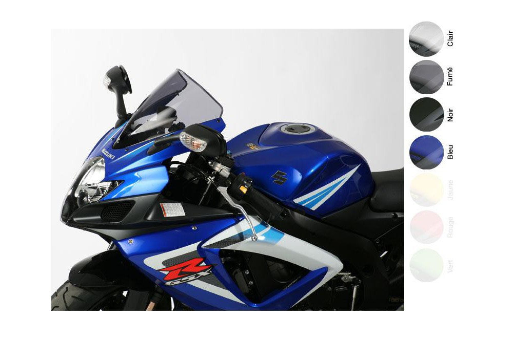 Bulle Moto MRA Type Racing +40mm pour Suzuki GSXR 600