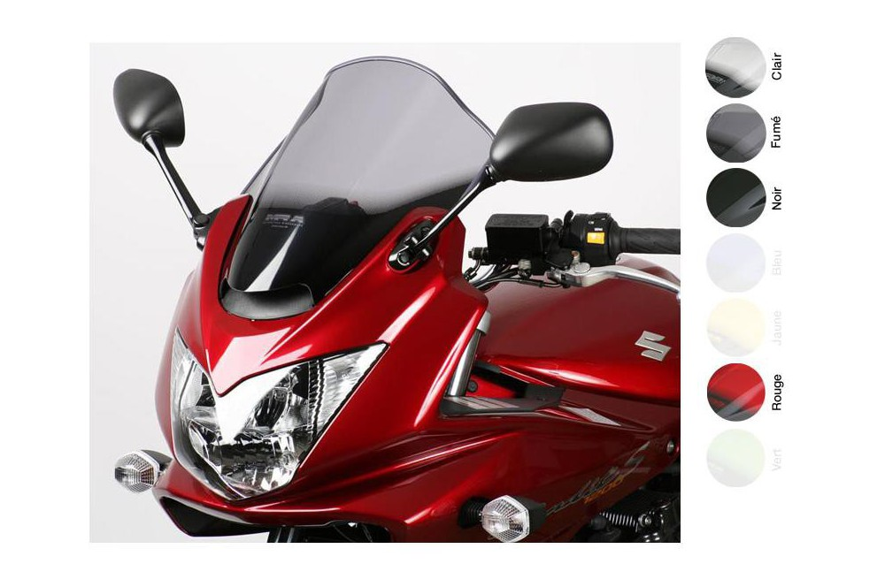 Bulle Moto MRA Type Racing +40mm pour Suzuki GSF 650 S Bandit