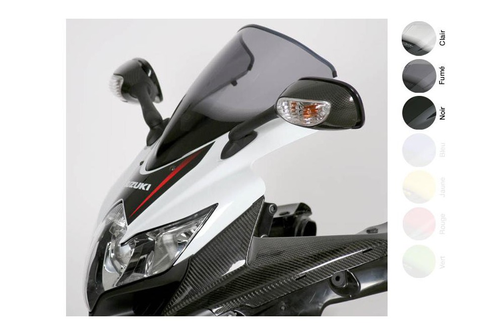 Bulle Moto MRA Type Racing +25mm pour Suzuki GSXR 750