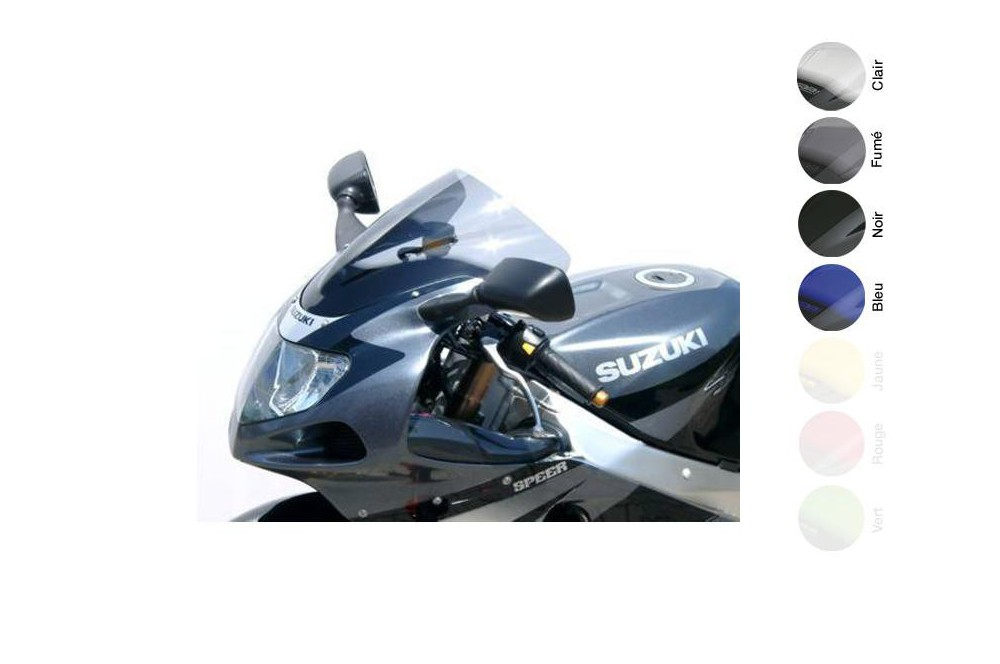 Bulle Moto MRA Type Racing +40mm pour Suzuki GSXR 1000