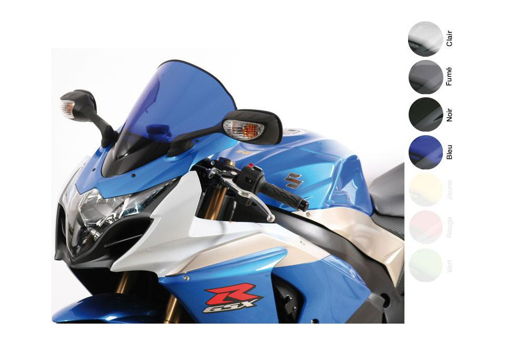 Bulle Moto MRA Type Racing +50mm pour Suzuki GSXR 1000