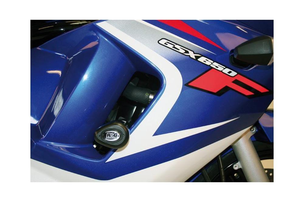 Tampon R&G Aero pour GSXF650 de 2008 a 2014