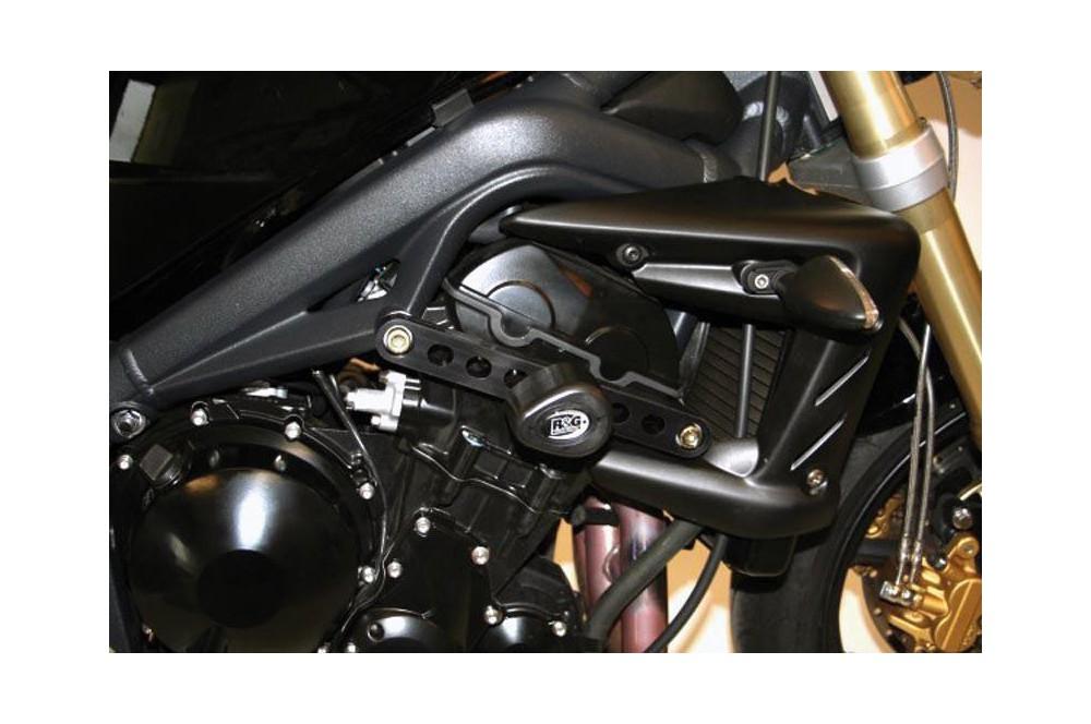 Tampon R&G Aero pour Street Triple 675 de 2007 a 2012