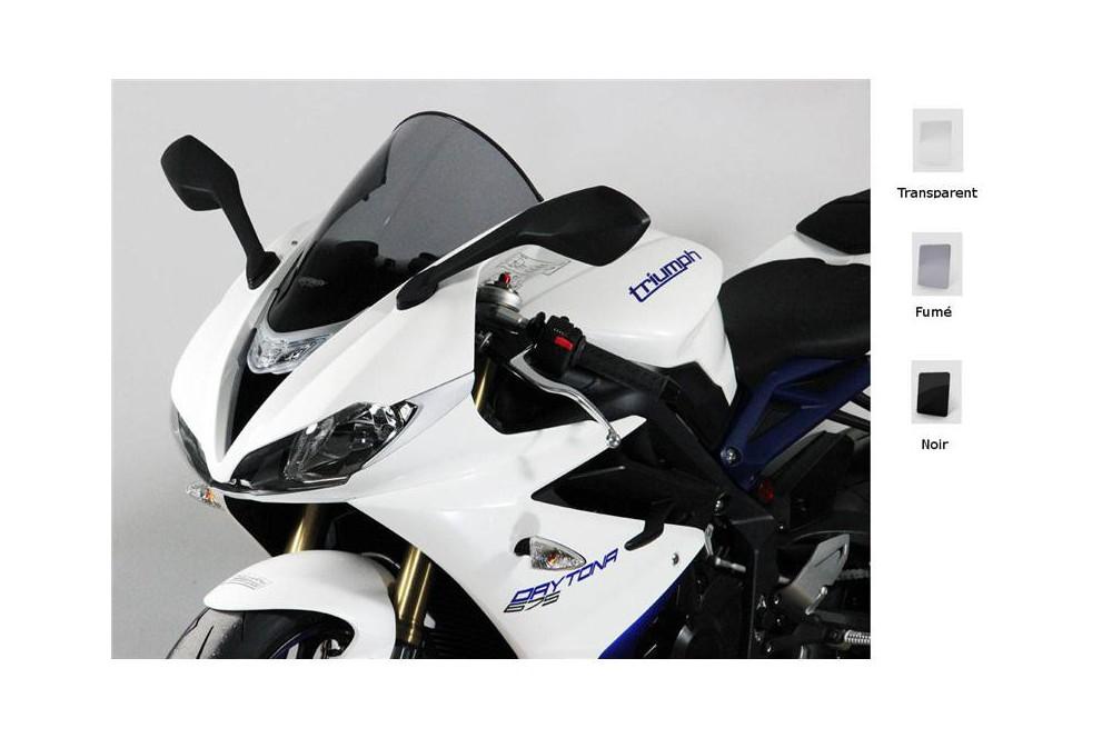 Bulle Moto MRA Type Racing +90mm pour Triumph 675