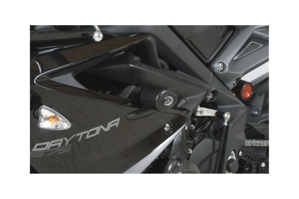 Tampon R&G Aero Race pour Daytona 675 de 2013 a 2014