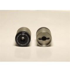 Protection / Embout de guidon R&G pour Aprilia