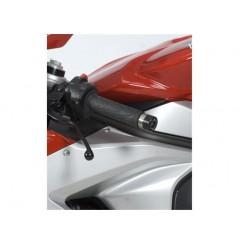 Protection / Embout de guidon R&G pour MV Agusta F3 de 2012 a 2016
