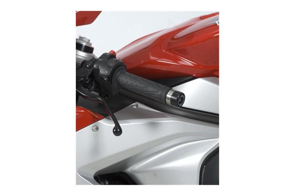 Protection / Embout de guidon R&G pour MV Agusta F3 de 2012 a 2014