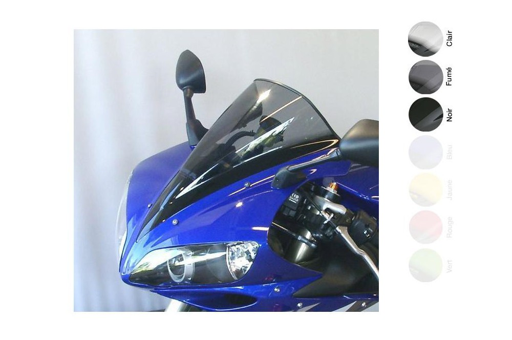 Bulle Moto MRA Type Racing +30mm pour Yamaha YZF-R1