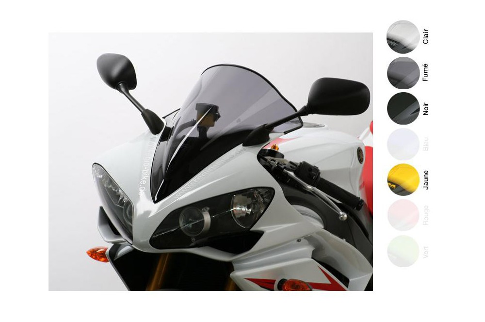 Bulle Moto MRA Type Racing +40mm pour Yamaha YZF-R1
