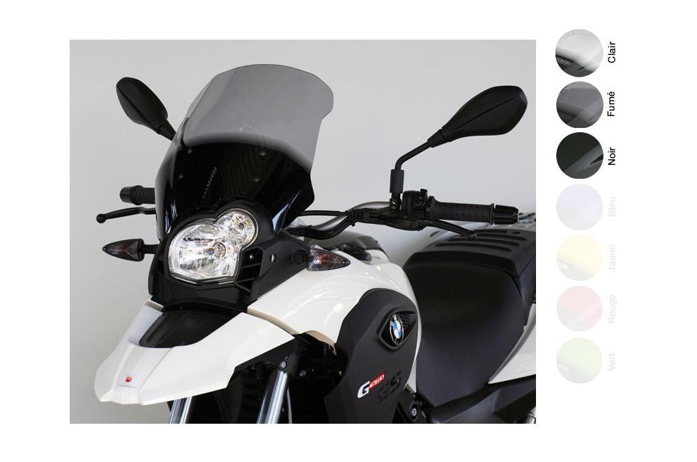 Bulle Tourisme Moto MRA  pour Bmw G650 GS