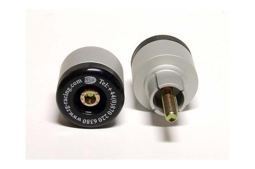 Protection / Embout de guidon R&G pour Speed Triple 955 de 97-06