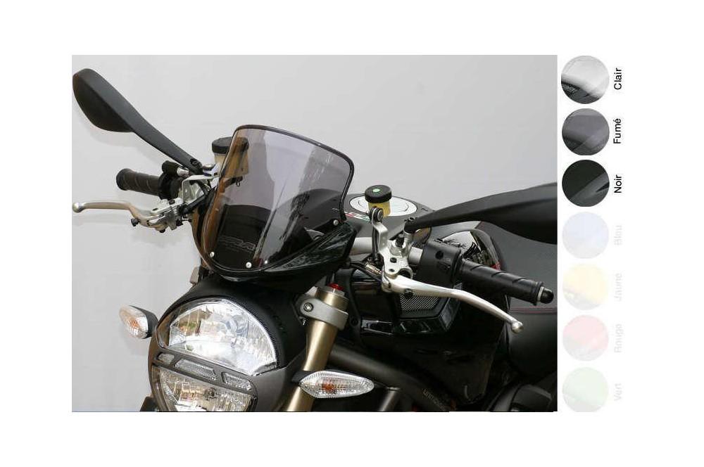 Bulle Tourisme Moto MRA +60mm pour Ducati 1100 Monster