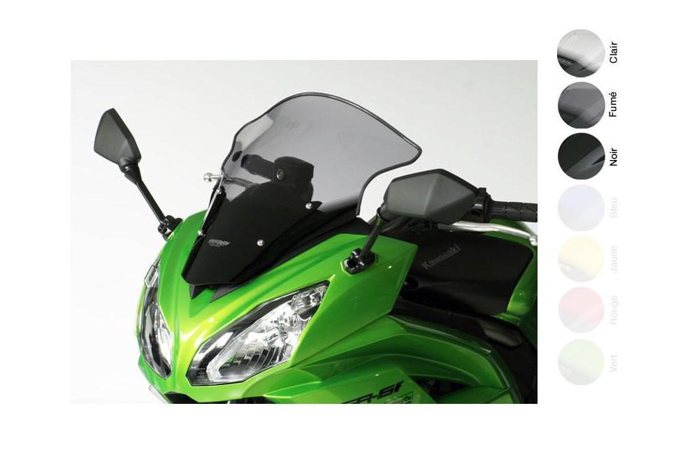 Bulle Tourisme Moto MRA +30mm pour Kawasaki ER6 - F