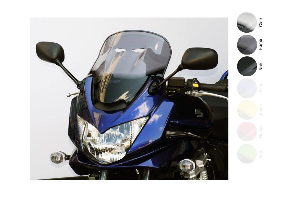 Bulle Tourisme Moto MRA +60mm pour Suzuki GSF 650 S Bandit