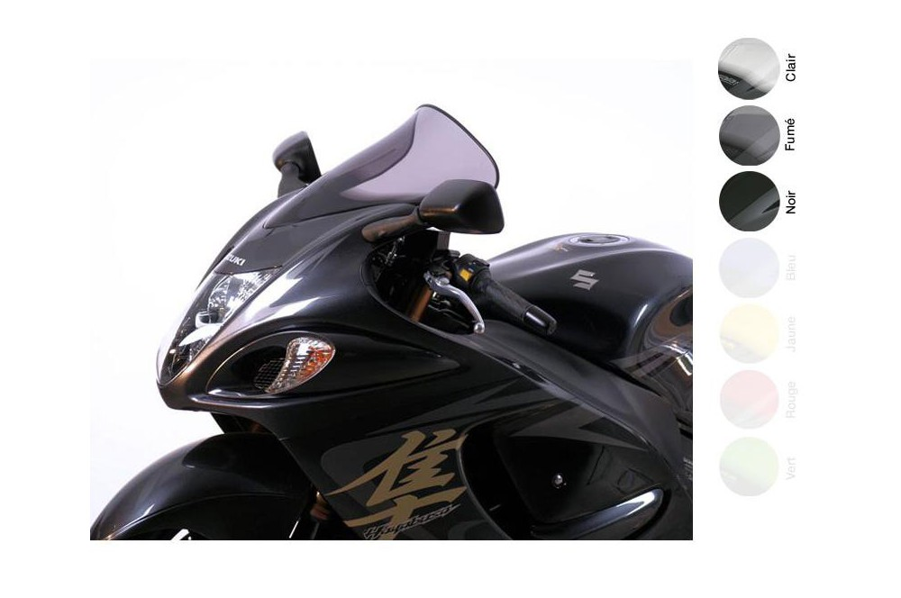Bulle Tourisme Moto MRA +30mm pour Suzuki GSX 1340 R