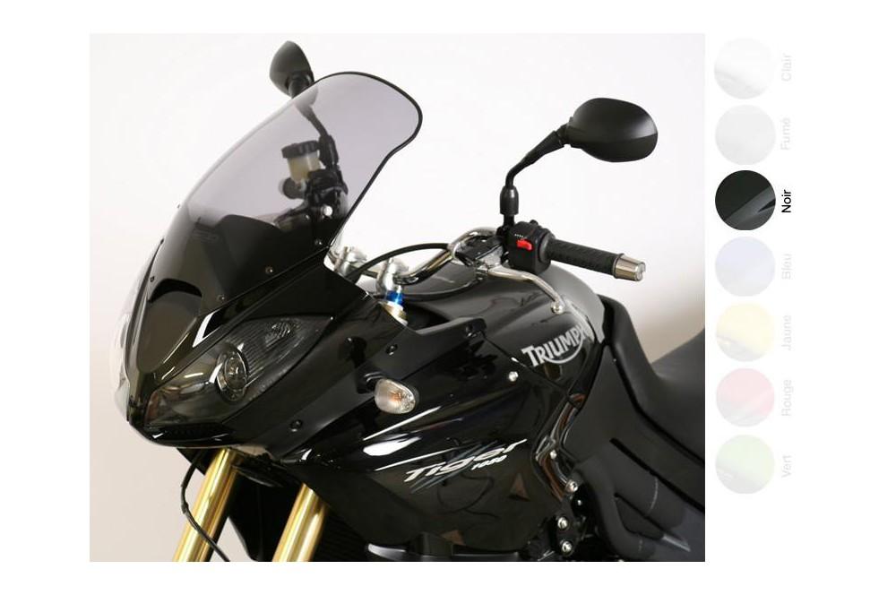 Bulle Tourisme Moto MRA +45mm pour Triumph Tiger 1050 - SE - Sport