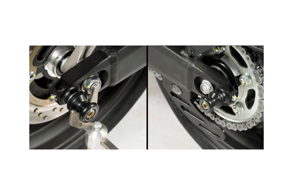 Pions / Diabolo de levage racing R&G pour CBR600F 11-13, Hornet 600 11-14