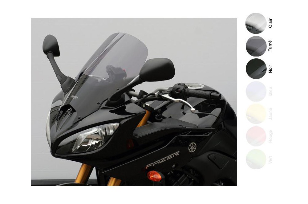 Bulle Tourisme Moto MRA +35mm pour Yamaha Fazer 8