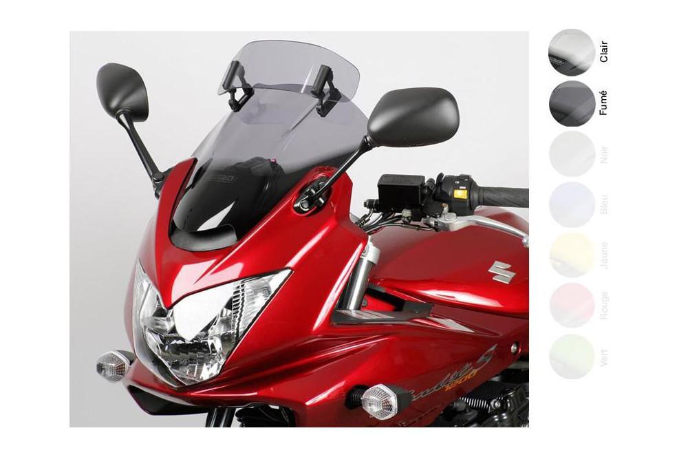 Bulle Vario Moto MRA +30mm pour Suzuki GSF 650 - 1250 S Bandit