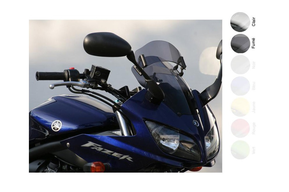 Bulle Vario Moto MRA +65mm pour Yamaha FZS 1000 Fazer