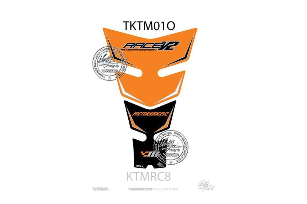 Protection de réservoir moto pour KTM 1190 RC-8