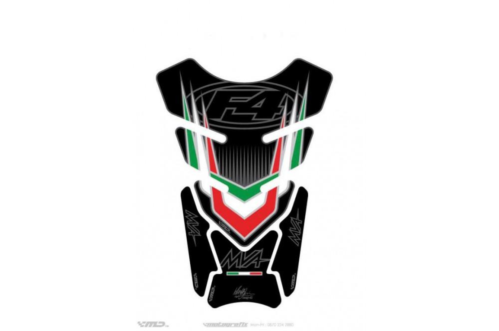 Protection de réservoir moto pour MV AGUSTA Universal Noir