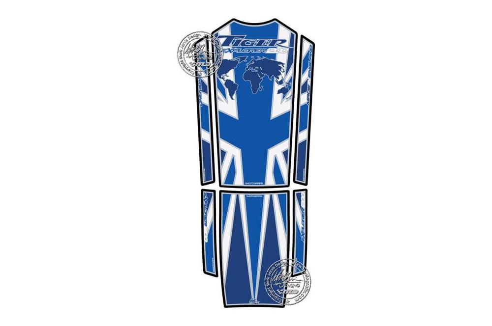 Protection de réservoir moto pour TRIUMPH 1200 Tiger