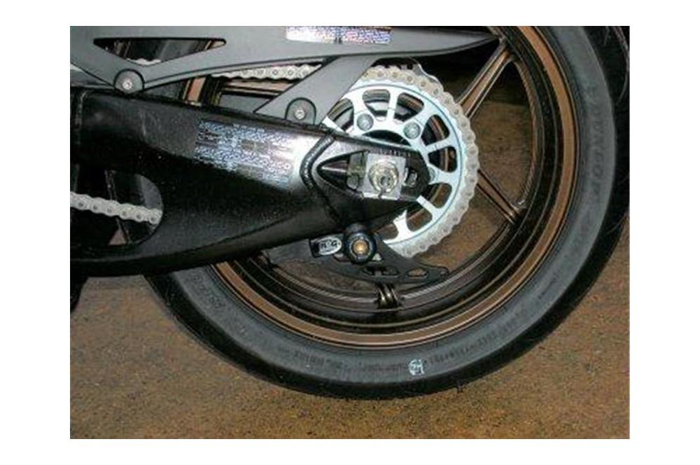 Pions / Diabolo de levage racing R&G pour Z750 03-06, ZX10R 04-10, ZX12R