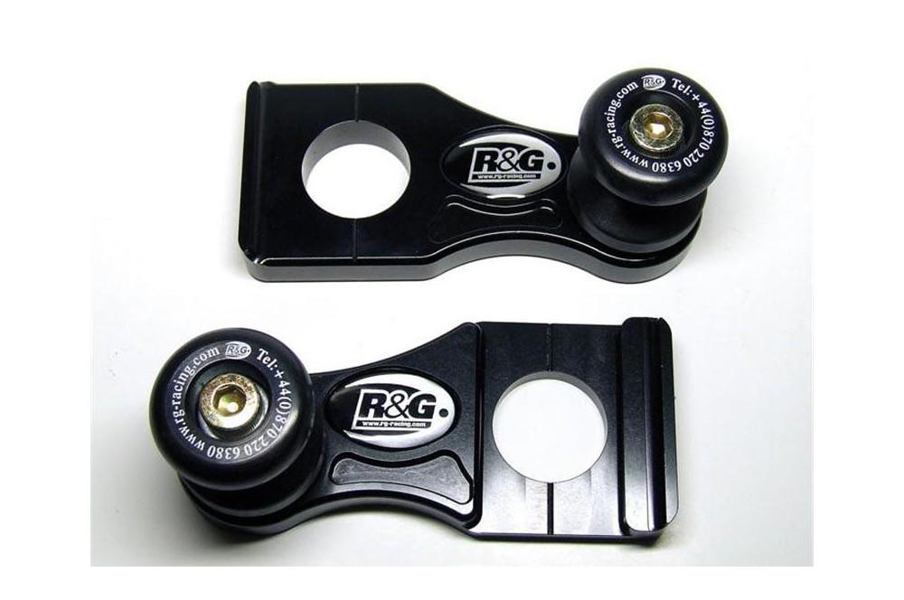 Pions / Diabolo de levage racing R&G pour GSXR 600 et 750 06-10
