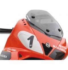 Bulle Sport Fumée Scooter Malossi pour Aprilia SR Max Ie 125 - 300 et Gilera Nexus 125 - 250 - 500
