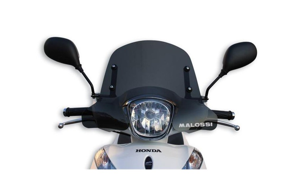 Bulle Sport Fumée Scooter Malossi pour Honda SH Mode 125