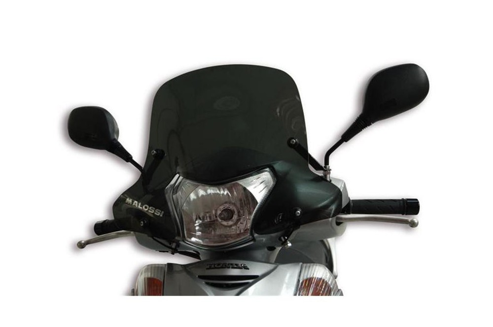 Bulle Sport fumée Scooter Malossi pour Honda SH i 300 Scoopy