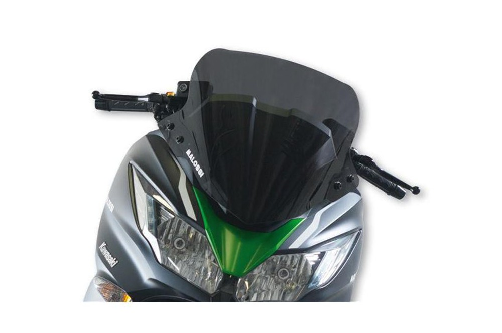 Bulle Sport Fumée Scooter Malossi pour Kawasaki J300